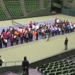 全国私学高校テニス大会1日目