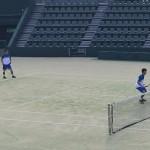 U-15 全国選抜ジュニアテニス選手権大会2日目