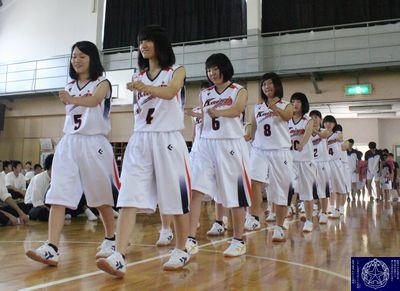 女子バスケ部