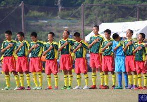 (速報)県中総体6 男子サッカー決勝