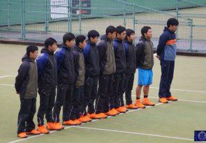 (速報)2回戦 全国選抜大会 男子硬式テニス部