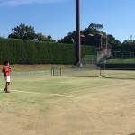 U-15 全国選抜ジュニアテニス選手権大会1日目