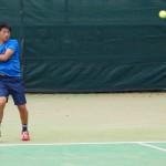 全日本テニス県予選1日目