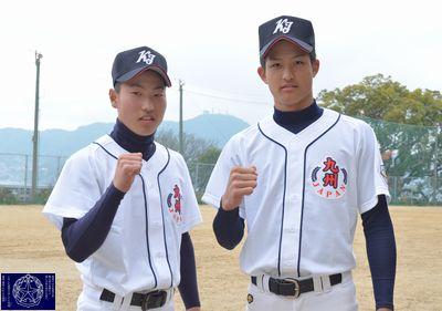 中学野球・九州代表の二人