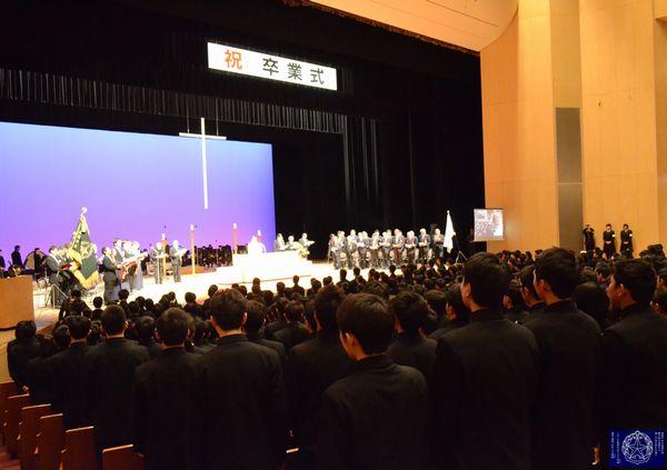卒業式全体