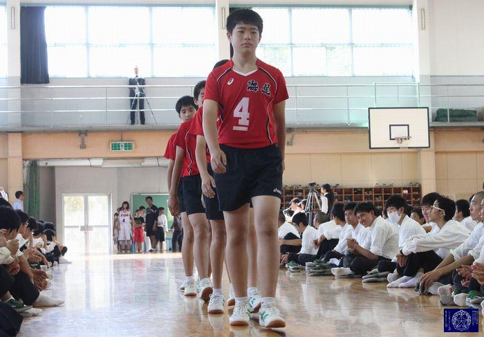 32 中学バレー