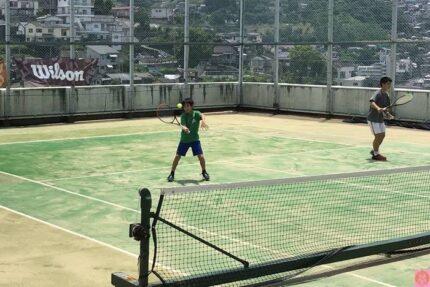 中学テニス