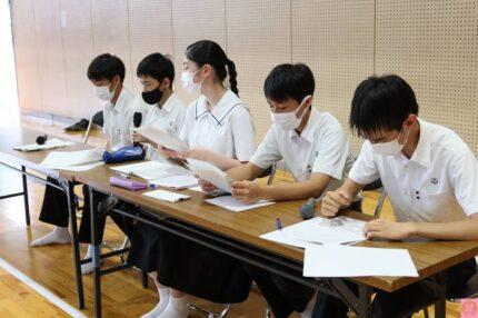 中学・生徒総会