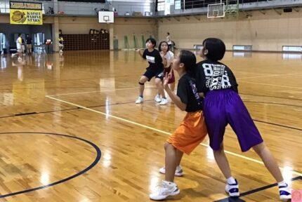 中学バスケ